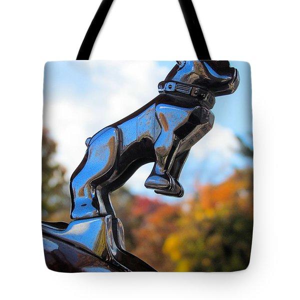 Mack Bulldog Tote Bag