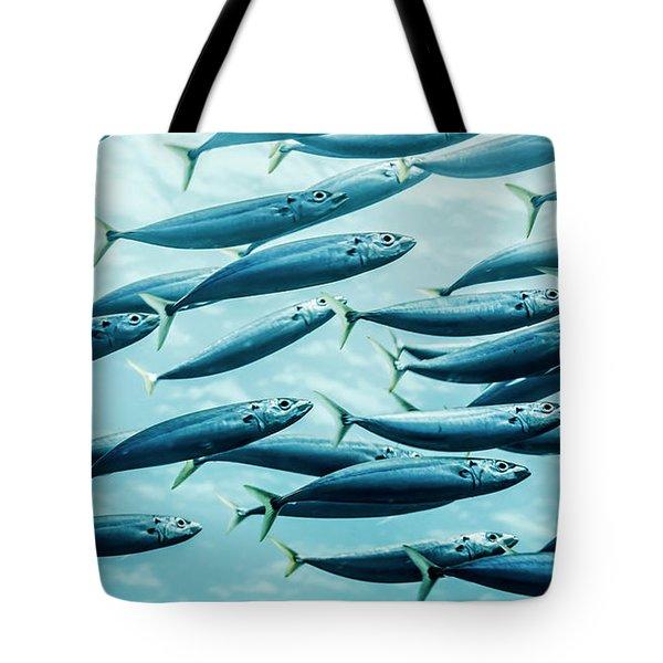 Mackerel Scad  Decapterus Macarellus Tote Bag