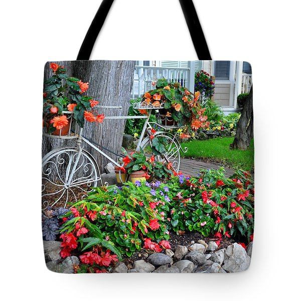 Mackinac Island Garden Tote Bag