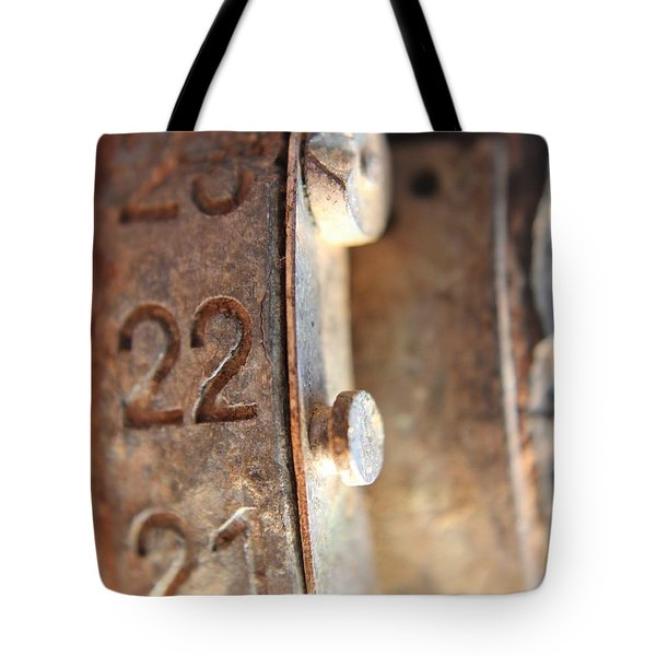 Macro Enigma Tote Bag