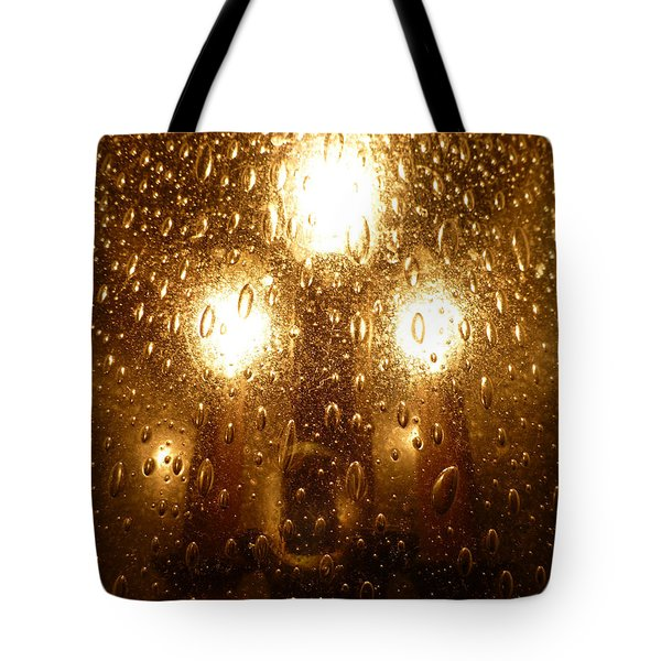 Macro Lights Tote Bag