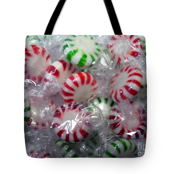 Macro Mints Tote Bag