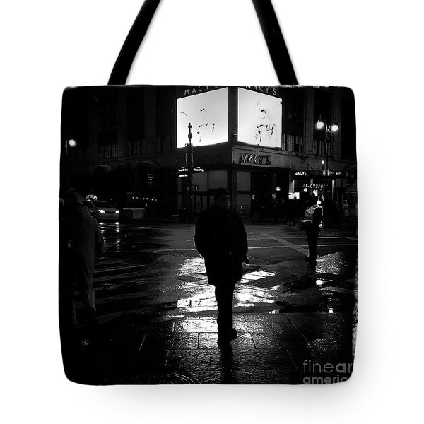 Macy's - 34th Street Tote Bag by James Aiken