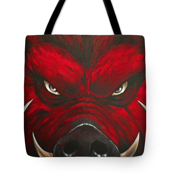 Mad Hog Tote Bag