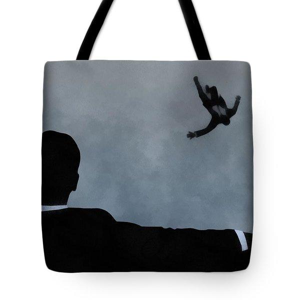 Mad Men Art Tote Bag by Dan Sproul