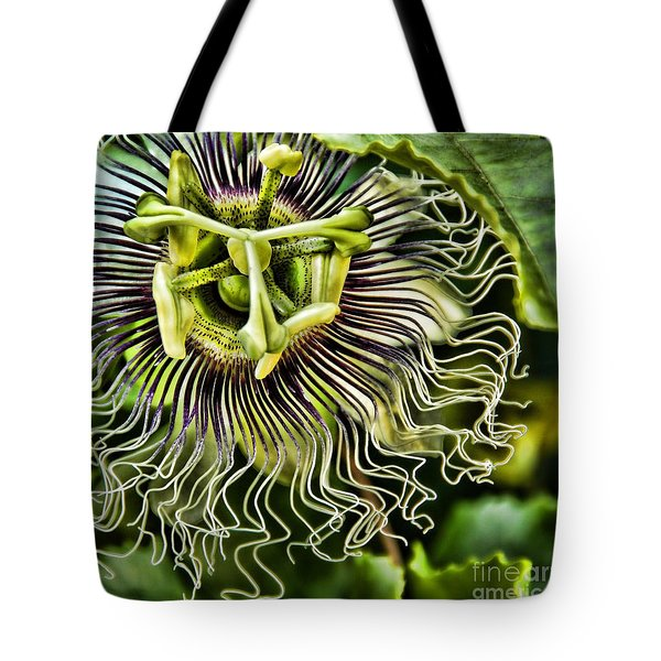 Mad Passion Tote Bag by Peggy Hughes