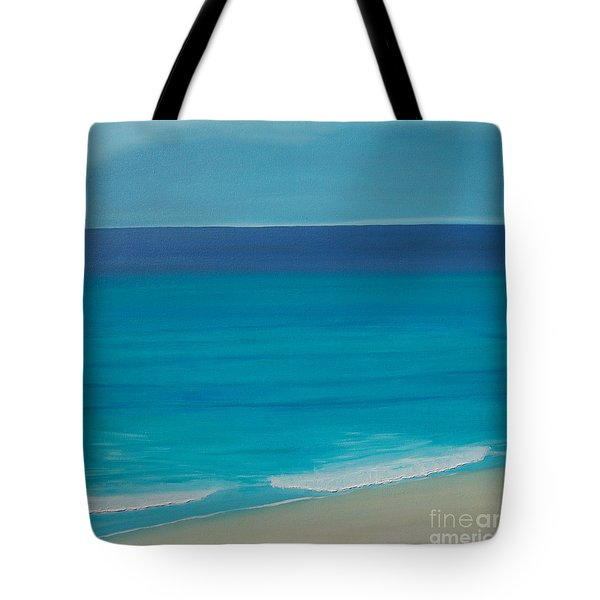 Tote Bag featuring the painting Madagascar by Mini Arora