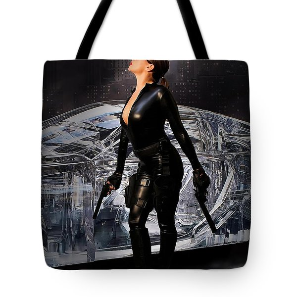 Madam Matrix Tote Bag