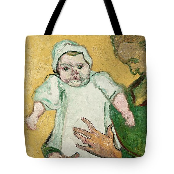 Madame Roulin And Her Baby Tote Bag by Vincent Van Gogh