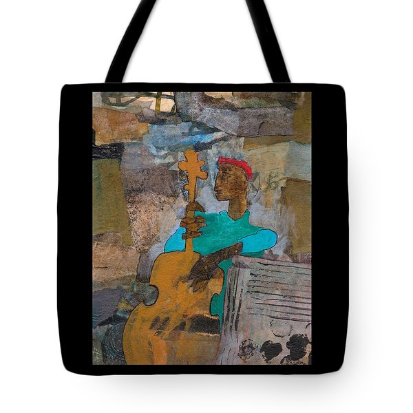 Madcap Bass Tote Bag by Catherine Redmayne