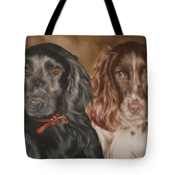 Maddie And Bisto Tote Bag by Cherise Foster