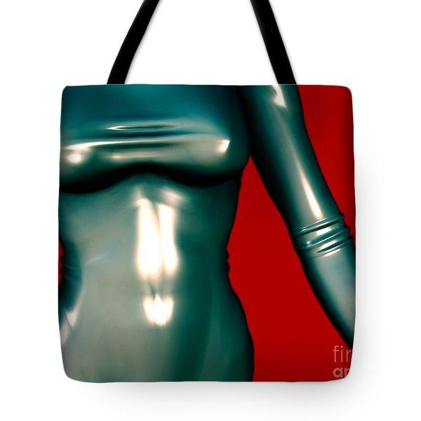 2 -mademoiselle Contenu Les Bleu Tote Bag