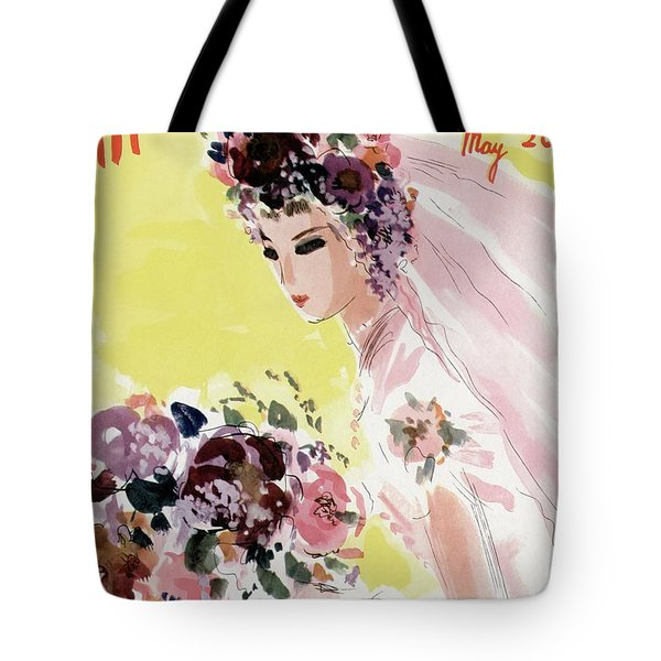 Mademoiselle Cover Featuring A Bride Tote Bag
