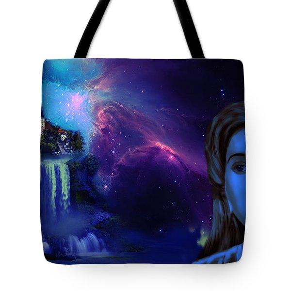 Madhubala And Imagination World Tote Bag