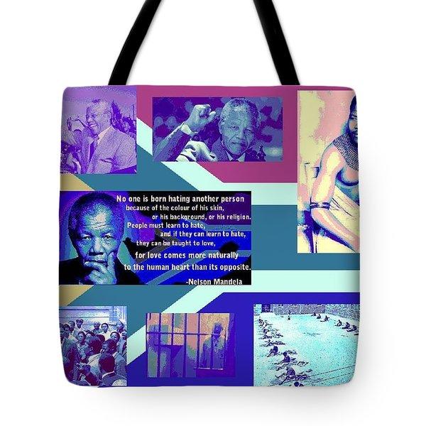 Madiba Mandela Tote Bag