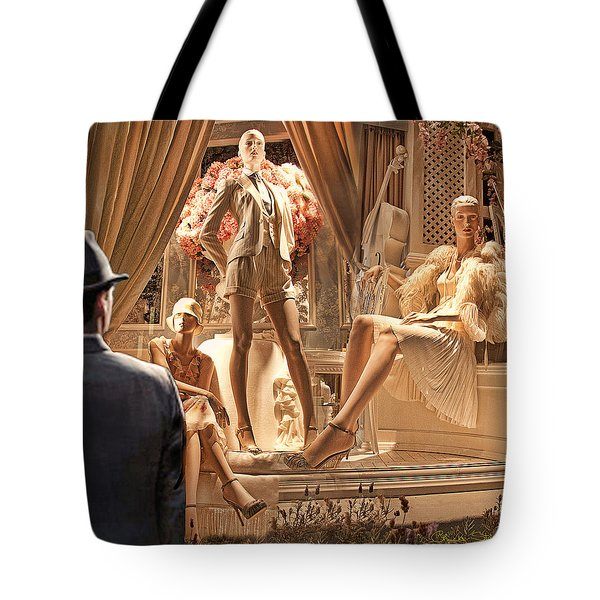 Madison Ave Meets Rodeo Drive Tote Bag by Chuck Staley