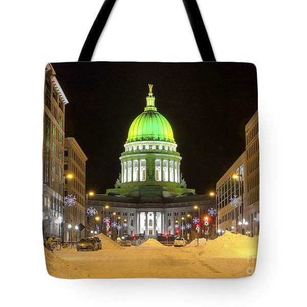 Madison Capitol Tote Bag by Steven Ralser