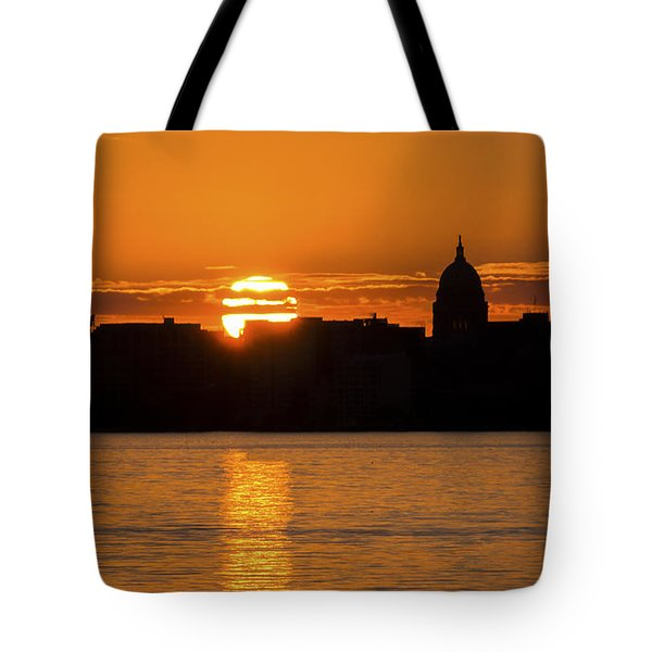 Madison Sunset Tote Bag by Steven Ralser