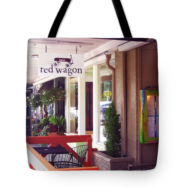 Madison Valley Street Scene 1 Tote Bag