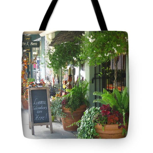 Madison Valley Street Scene 2 Tote Bag
