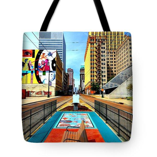Madison's Memphis Tote Bag