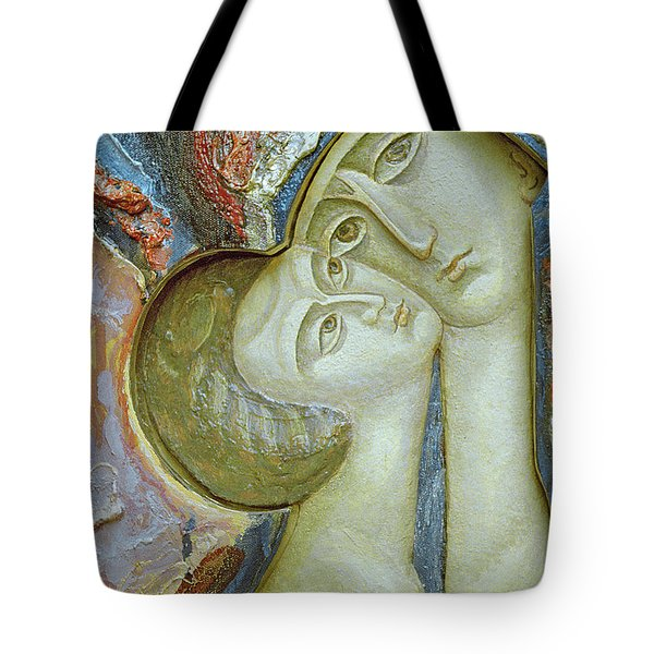 Madonna And Child Tote Bag by Alek Rapoport