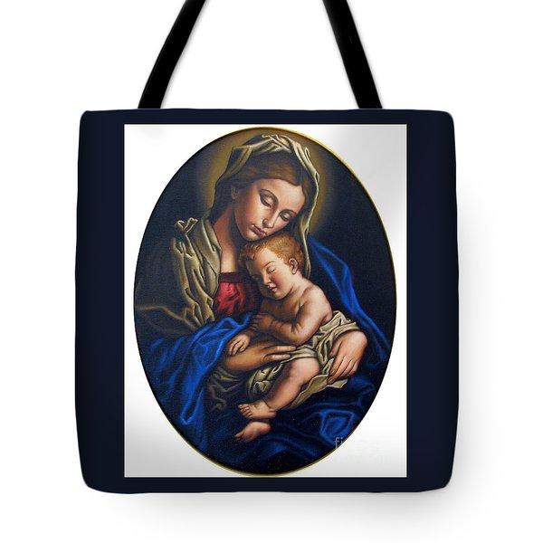 Madonna And Child Tote Bag by Jane Whiting Chrzanoska