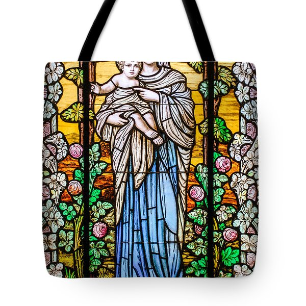 Madonna And Child Tote Bag