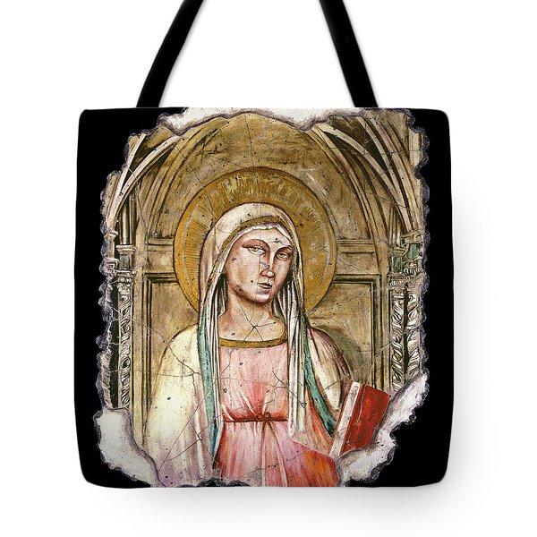 Madonna Del Parto Tote Bag by Steve Bogdanoff