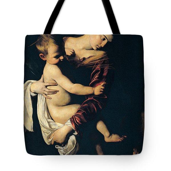 Madonna Di Loreto Tote Bag