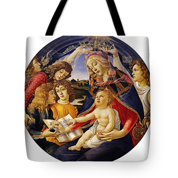 Madonna Of The Magnificat Tote Bag