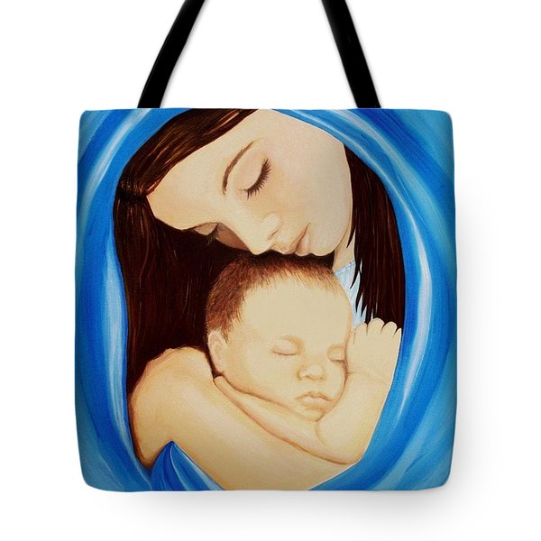 Madonna Of The Sea Tote Bag