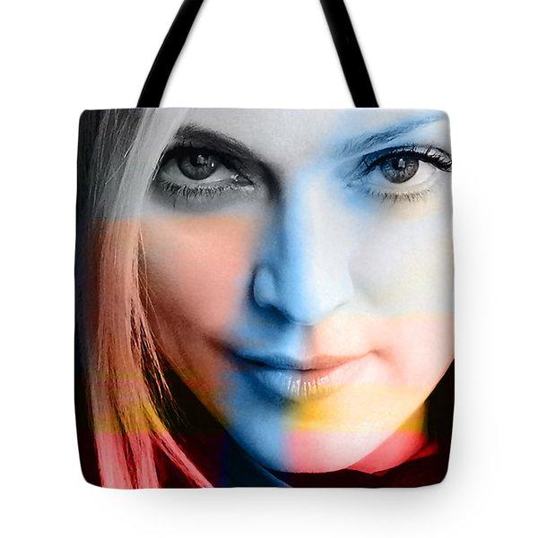 Madonna Painting Tote Bag