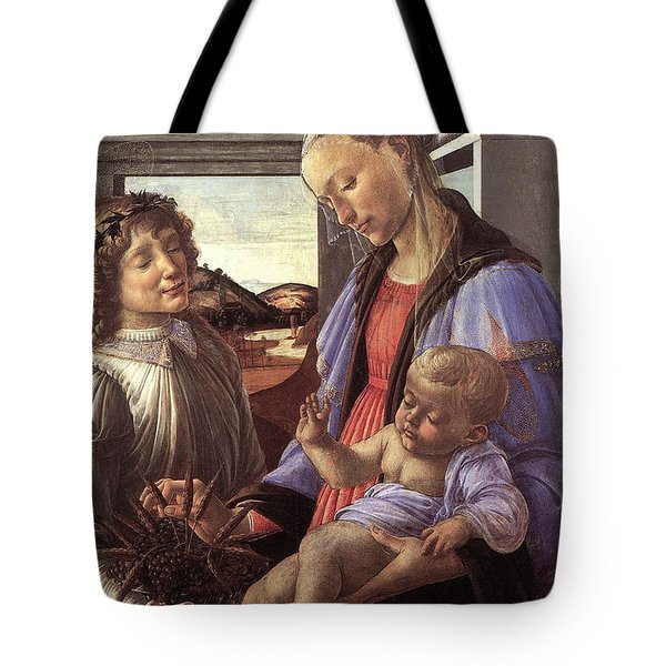 Madonna With Child Tote Bag by Unknown
