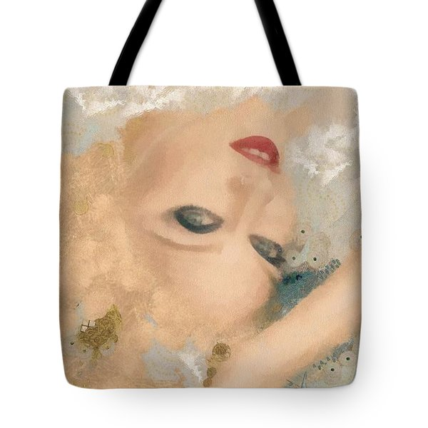 Madonna Wow Tote Bag