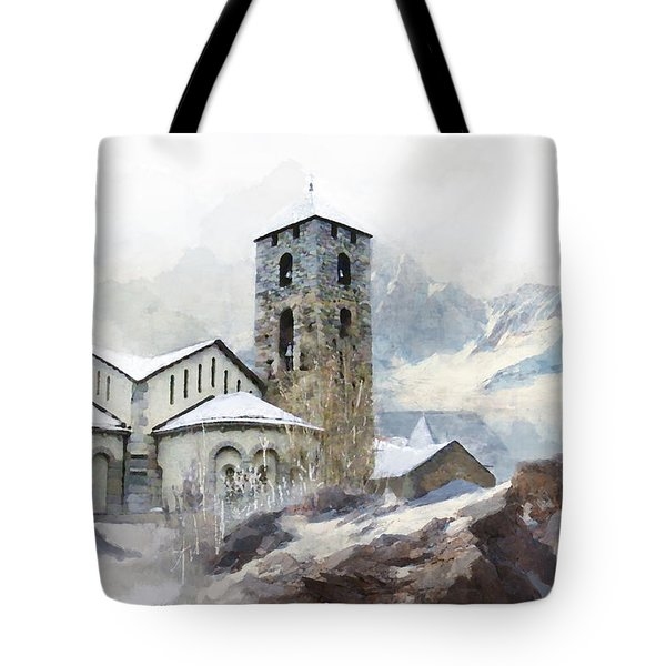 Madriu Perafita Claror Valley Tote Bag by Catf