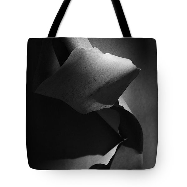 Madrona Bark Black And White Tote Bag