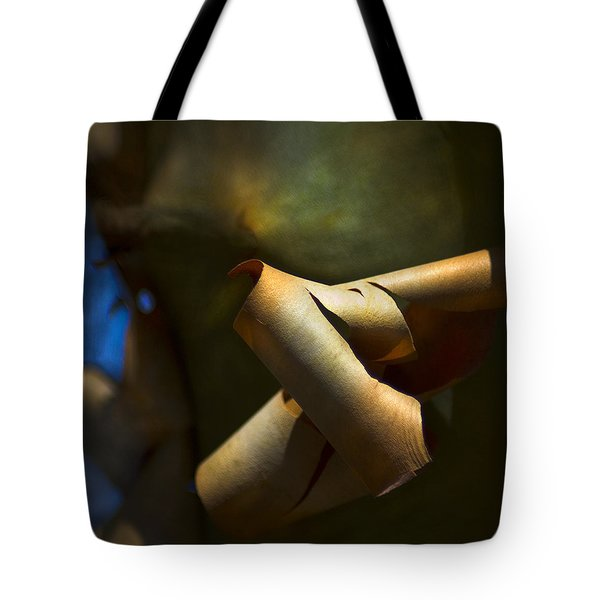 Madrona Tree Bark Tote Bag