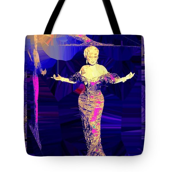 Mae West. Ladies Embrace Your Curves Tote Bag