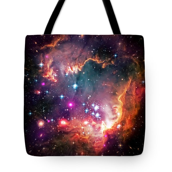 Magellanic Cloud 2 Tote Bag by Jennifer Rondinelli Reilly - Fine Art Photography