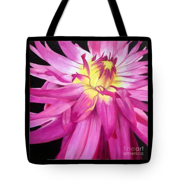 Magenta Beauty Tote Bag