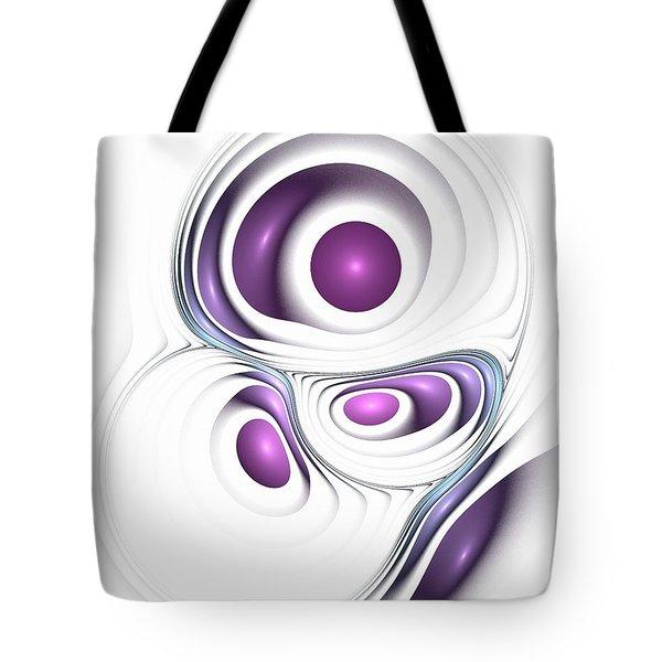 Magenta Creation Tote Bag by Anastasiya Malakhova
