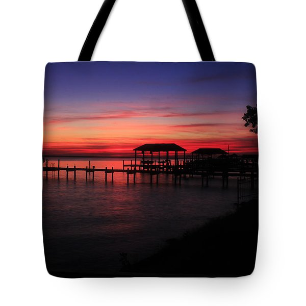 Magenta Evening  Tote Bag