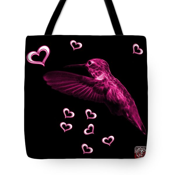 Magenta Hummingbird - 2055 F Tote Bag by James Ahn