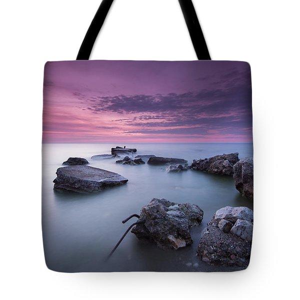 Magenta Morning Tote Bag