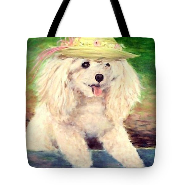 Maggie   Straw Hat Tote Bag