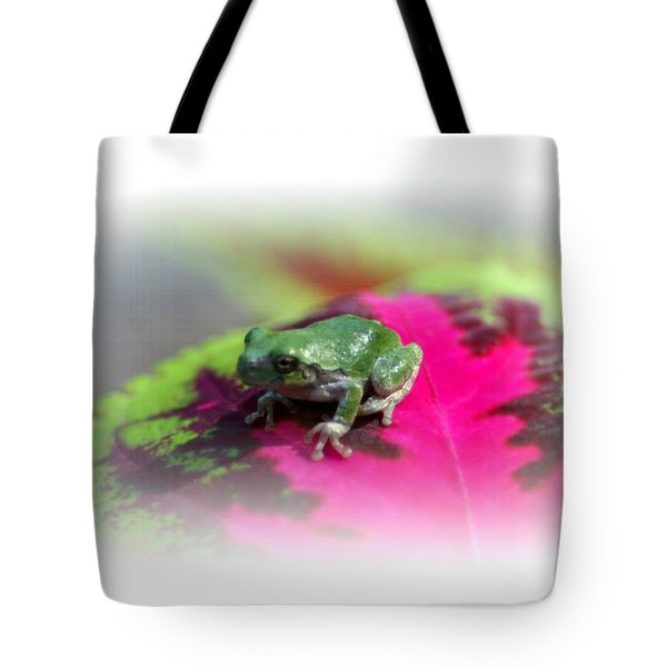 Magic Carpet Coleus Leaf Tote Bag