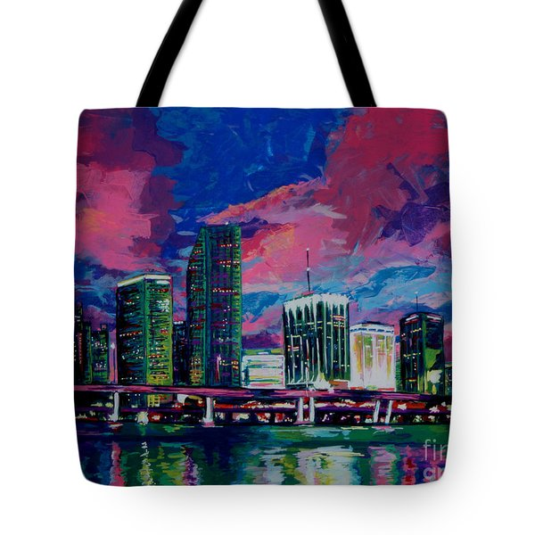 Magic City Tote Bag by Maria Arango