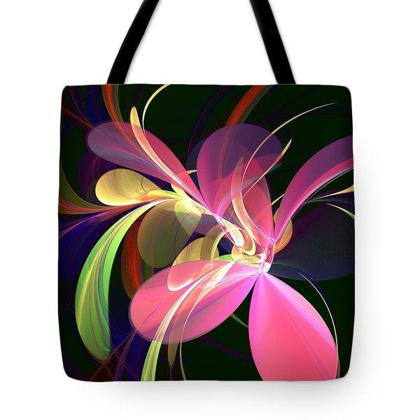 Magic Flower Tote Bag by Anastasiya Malakhova
