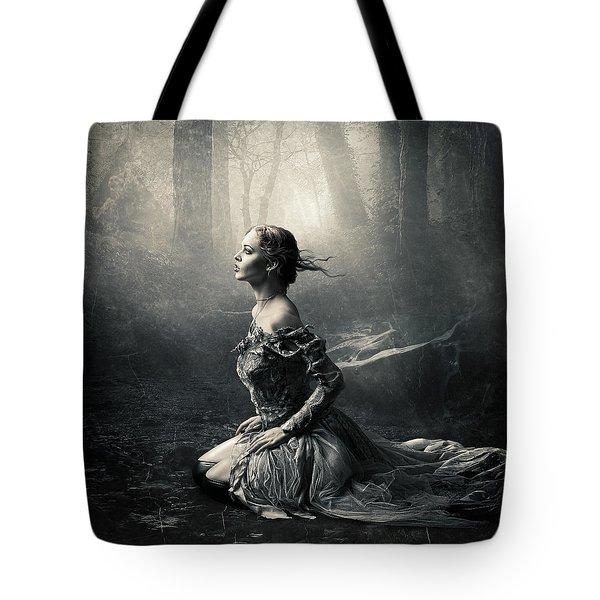 Magic Light Tote Bag by Cindy Grundsten